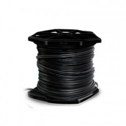 CABLE SIAMES RG59 CCA WAM (MALLA 95, CONDUCTOR CU 20 AWG) + 2/18 AWG/NEGRO/SIAMES/305 MTS
