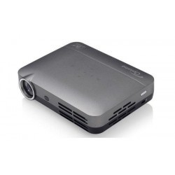 VIDEOPROYECTOR OPTOMA DLP INTELLIGO-S1 720P RGB LED 500 LUMENES HDMI MHL BLUETOOTH 4.0 COLOR GRIS