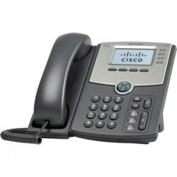 TELÉFONO IP CISCO 4 LINEAS WIRED HANDSET GRIS, LCD 128 X 64 PIXELES