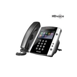 TELEFONO IP POLYCOM VVX 600 16-LINE BUSINESS MEDIA PHONE WITH BUILT-IN BLUETOOTH AND HD VOICE