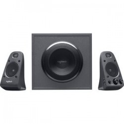 BOCINAS LOGITECH Z625 NEGRAS 2.1 THX 200 WATTS RMS CON ENTRADA OPTICA PC/MAC/SMARTPHONES/TABLETS/TV/CONSOLAS DE VIDEO JUEGOS