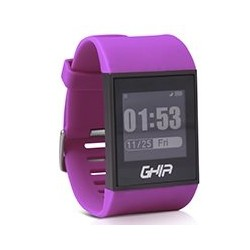 GHIA SMART WATCH VITALE/ 1.28 TOUCH/ WATERPROOF/ BT/ IOS/ ANDROID/ MORADO