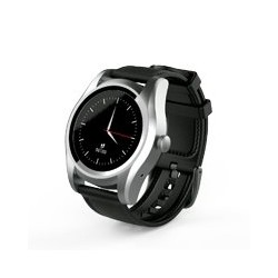 GHIA SMART WATCH CYGNUS /1.1 TOUCH/ HEART RATE/ BT/ SENSOR G/ SIM CARD 2G/GAC-145 NEGRO/PLATA