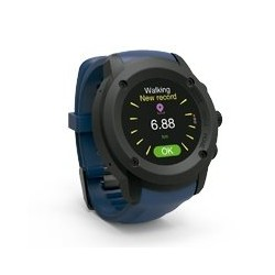GHIA SMART WATCH DRACO /1.3 TOUCH/ HEART RATE/ BT/ GPS/ GAC-140 /COLOR AZUL