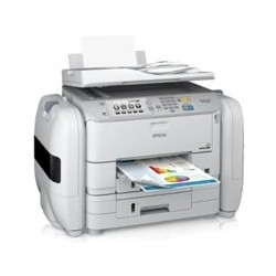 MULTIFUNCIONAL EPSON WORKFORCE PRO WF-R5690, PPM 34 NEGRO/30 COLOR, USB, WIFI, RED, FAX, DUPLEX, CONSUMIBLE BOLSA