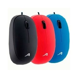 MOUSE OPTICO ACTECK ALAMBRICO USB COLOR ROJO, AC-916516