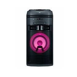 MINICOMPONENTE ONEBODY LG OK55 500 W, CD/FM/AUX, MULTIBLUETOOTH(3), MULTIUSB(2), KARAOKE STAR, EFECTOS VOCALES, LUCES LED, COLOR
