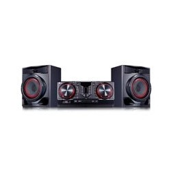 MINICOMPONENTE LG CJ44 480 W CD/MP3/MULTIBLUETOOTH(3), MULTIUSB(2), KARAOKE STAR, EFECTOS VOCALES, LUCES LED, NEGRO