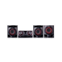 MINICOMPONENTE LG CJ45 720 W CD/MP3/MULTIBLUETOOTH(3), MULTIUSB(2), KARAOKE STAR, EFECTOS VOCALES, LUCES LED, NEGRO