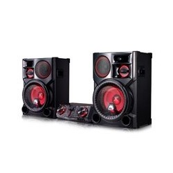 MINICOMPONENTE LG CJ98 3500 W CD/MP3/MULTIBLUETOOTH(3), MULTIUSB(2), KARAOKE STAR, EFECTOS VOCALES, LUCES LED, NEGRO