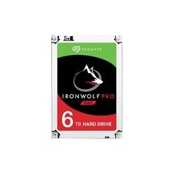 DD INTERNO SEAGATE IRONWOLF PRO 3.5 6TB SATA3 6GB/S 7200RPM 64MB 24X7 HOT-PLUG P/NAS 1-16 BAHIAS