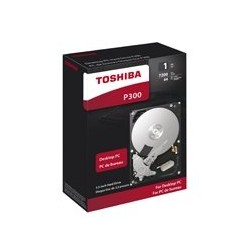 DD INTERNO TOSHIBA P300 3.5 1TB/SATA3/6GB/S CACHE 64MB/7200RPM/PC/EMPAQUE RETAIL