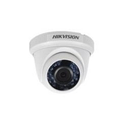 CAMARA HIKVISION TIPO DOMO EYEBALL TURBO HD 720P / LENTE GRAN ANGULAR DE 2.8MM / IR INTELIGENTE 20MTS /IP66
