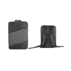 MOCHILA LAPTOP 15 SLIM BLOCK PERFECT CHOICE GRIS PC-083429