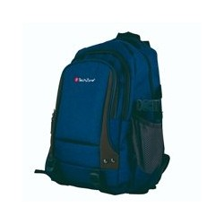 MOCHILA PARA LAPTOP TECHZONE COLOR AZUL REPELENTE AL AGUA MATERIALES PREMIUM